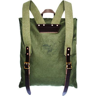 Duluth Pack Canvas Backpack made in Duluth, Minnesota.