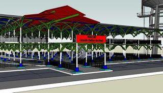 PLANTAS ELECTRICAS  - VENTAS Y ALQUILER- SILENCIOSA Y ESTANDAR : Proyecto en Haiti - Mercado Público Grande Riviere...