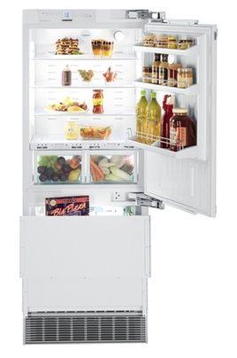 Refrigerateur congelateur encastrable Liebherr ECBN 5066 charnière à droite