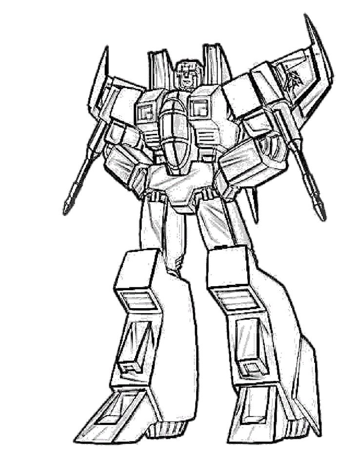 Bumblebee Transformer Coloring Page Toddler coloring