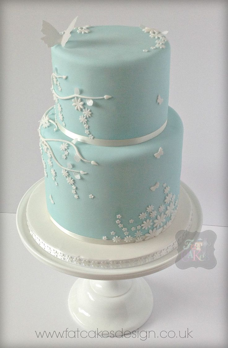 light blue and brown wedding cakes 17 best images about weddings on sugar flowers 16845