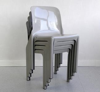// Vico Magistretti Selene Chairs