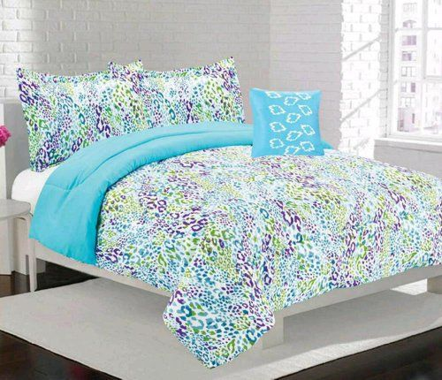Girls Kids Bedding- Alice Multi Color Comforter Set 2978