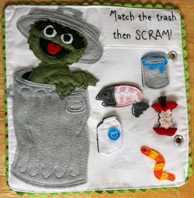Get Your Craft On: Sesame Street Quiet Book - The Summary