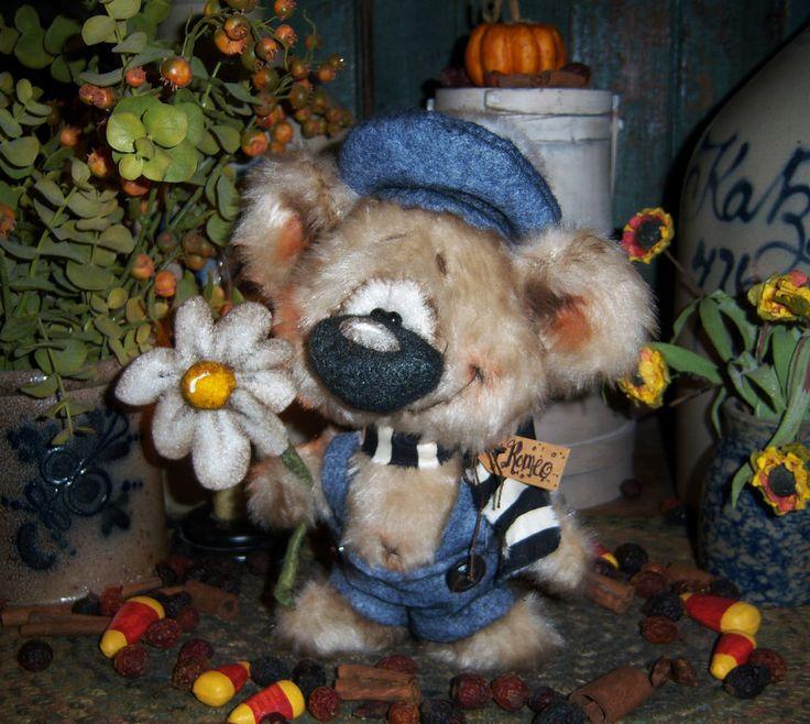 Special Bear Listing for  Desiree   Romeo Doll Patti's Ratties OOAK