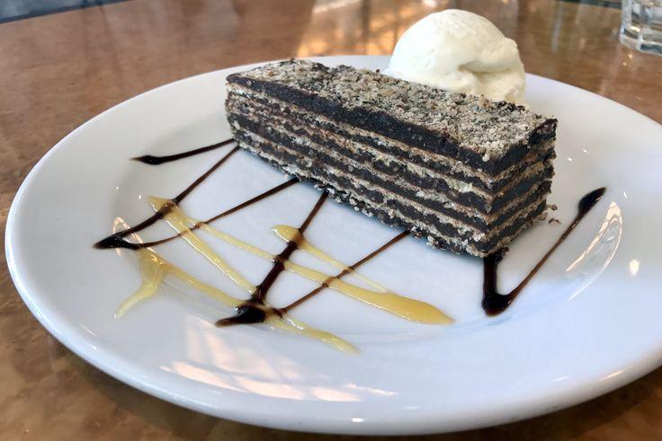 Three chocolate hazelnut desserts