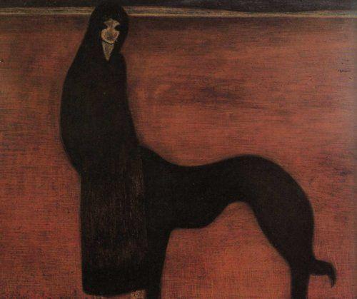 young Woman and Dog, Leon Spilliaert. c.1913 - Поиск в Google