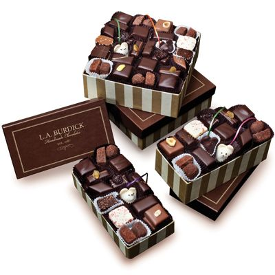 Burdick Chocolate: Everyday Assortments, what every woman wants. If you are a chocoholic, you will love Burdick.