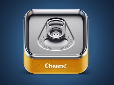 Cheers beer IOS icon by Mikael Eidenberg