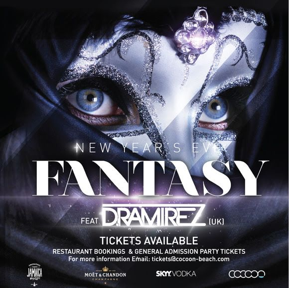 Let your imagination run wild and bring your fantasy to life in New Year's Eve Fantasy by Cocoon Beach Club on Thursday, 31 December 2015.