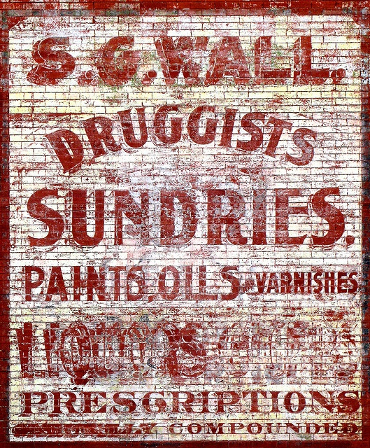 SG Wall Druggist and Sundries