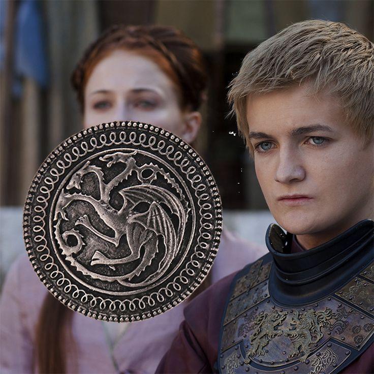 Игра престолов, Таргариен брошь- дракон
