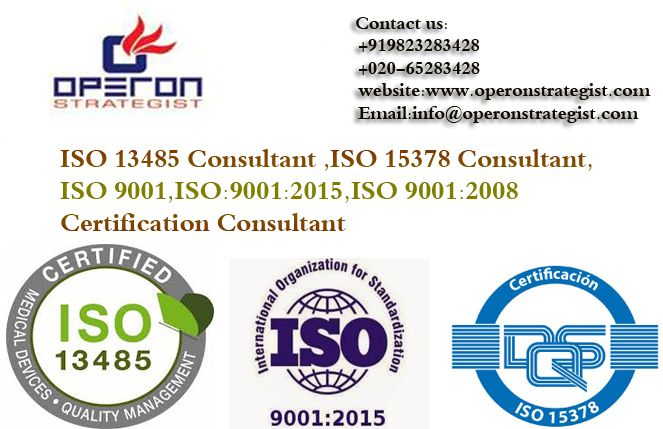 #ISO 13485 ,#ISO 15378 ,#ISO 9001, #Certification #Consultant In India. #ISO 13485 is a #quality #management #system specifically developed for #medical #devices & related #services. ISO 13485 can also be used by suppliers or external parties that provide the product, including quality management system-related services to such organizations. #Operon #Strategist helps clients develop, implement & maintain an efficient quality management system. website:www.operonstrategist.com