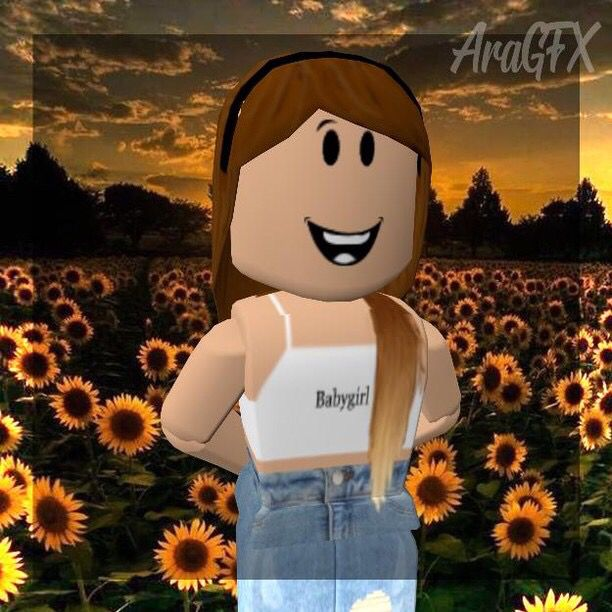 Roblox Profile Picture Sunflower Roblox Pictures Roblox Animation Cute Profile Pictures