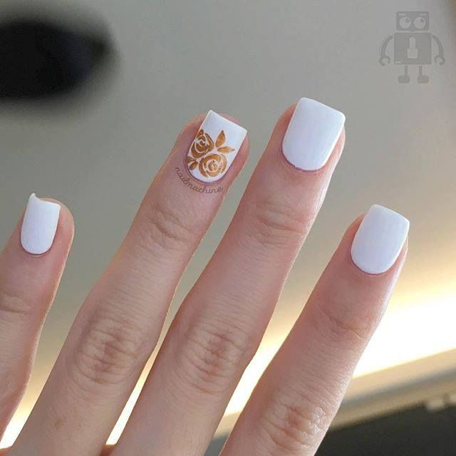 25+ Best Ideas About Bridal Nail Art On Pinterest