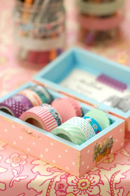 New home for my masking tapes by jasna.janekovic, via Flickr
