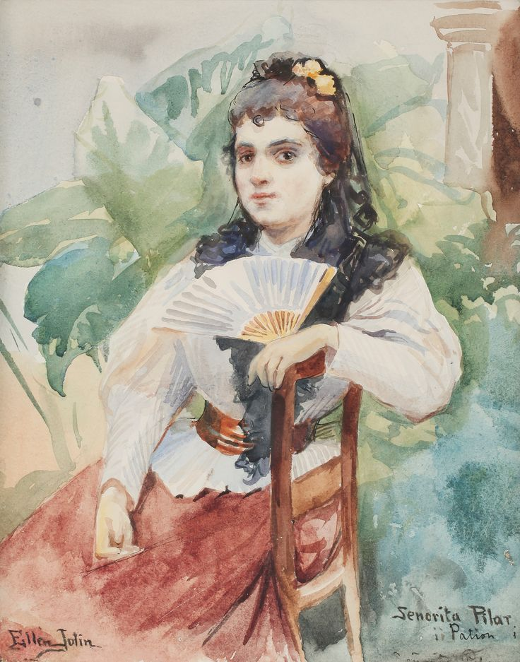 Ellen Jolin (1854-1939) Senorita Pilar