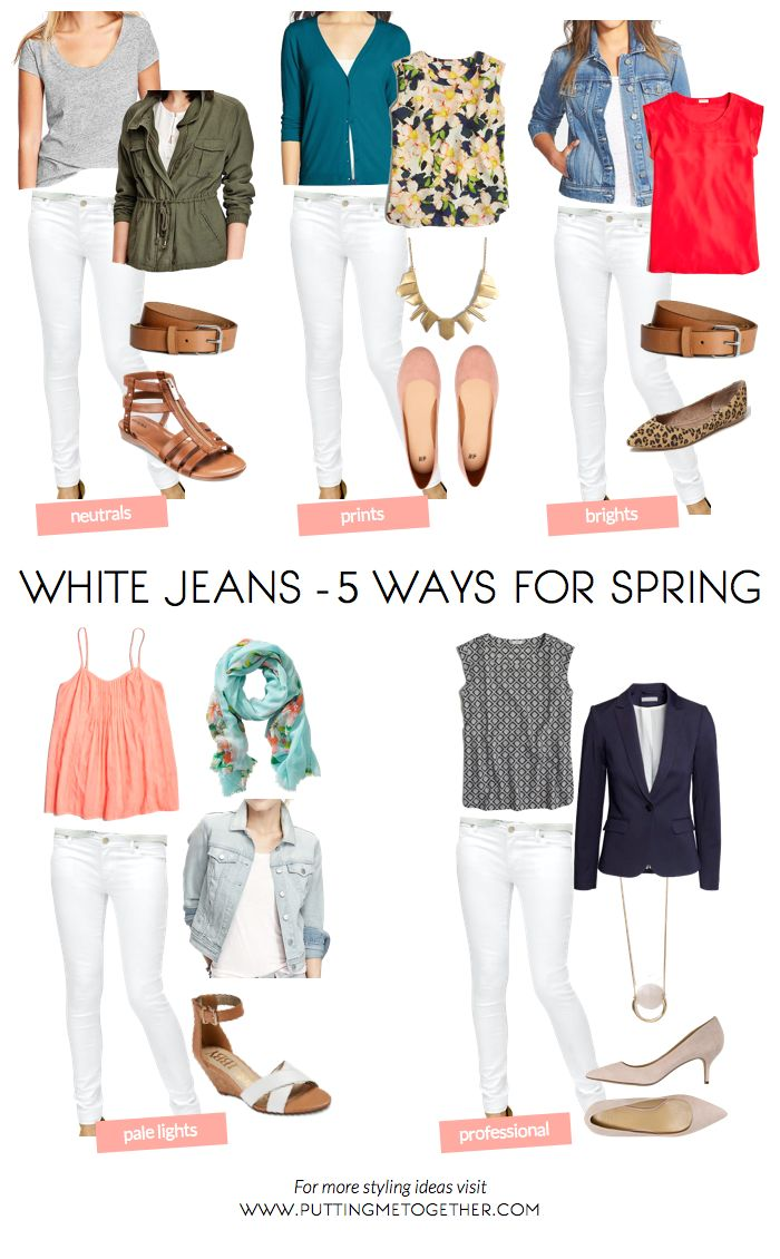 best 25 white jeans outfit ideas on pinterest white pants outfit spring work white pants and. Black Bedroom Furniture Sets. Home Design Ideas