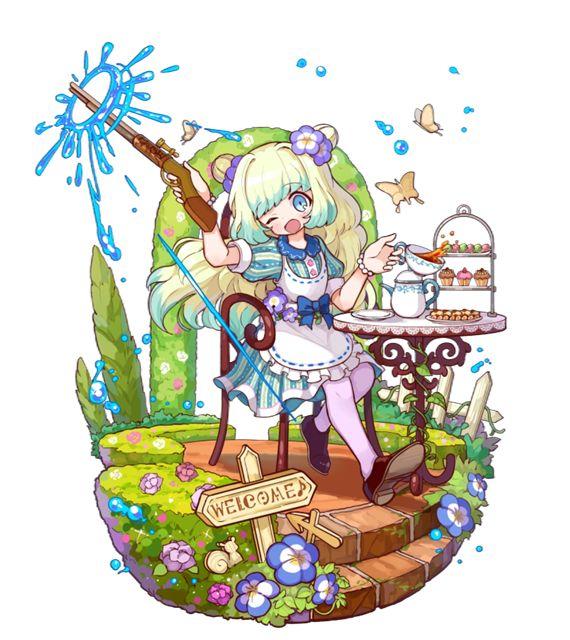 「水銃の園芸家」ネモフィラ
