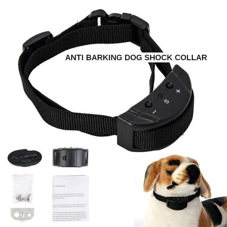 $15.99...Anti bark dog shock collar XZ100 electric no barking training safe pet control  #Training