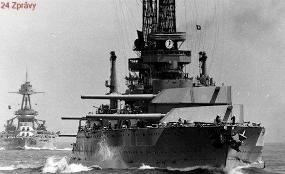 USA stavěly před 100 lety nové bitevní lodě