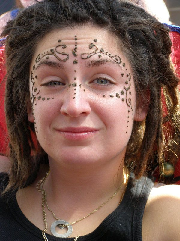 Henna Face Tattoo: 147 Best Images About Facial Tattoo Reference On Pinterest