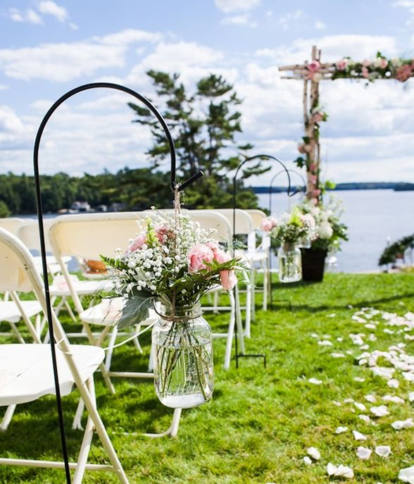 Outside Wedding Ceremony Decorations: Outdoor Ceremony Ideas