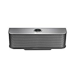 TaoTronics Stereo Dynamic, crystal, clear andexceptional sound quality is provided by 2x 10w speakers and 2x passive radiators.