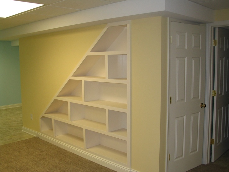 Under Stairs Shelving Unit 9 best great room remodel images on pinterest | built in cabinets