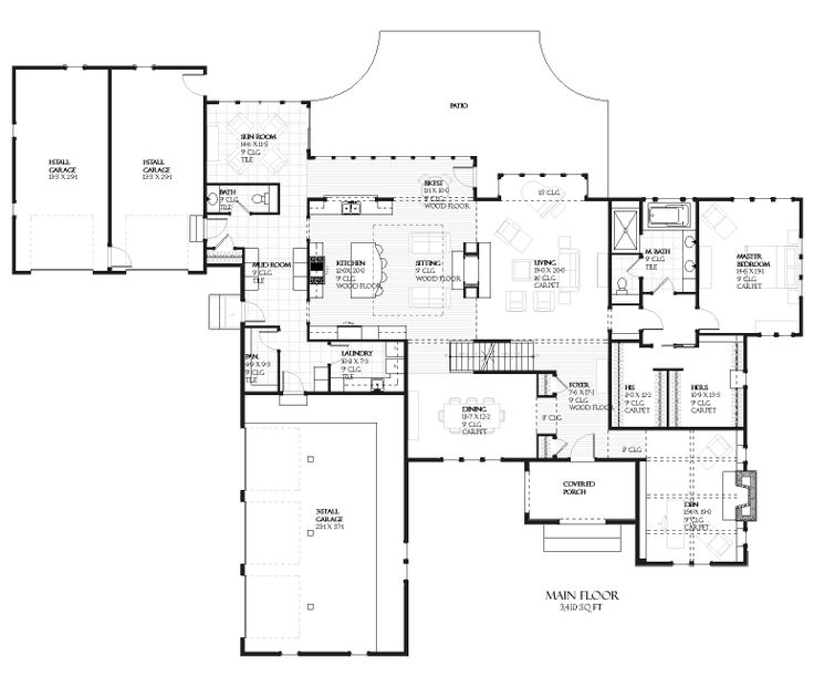 This European Design Floor Plan Is 4635 Sq Ft And Has 4 Bedrooms And Has  Bathrooms.