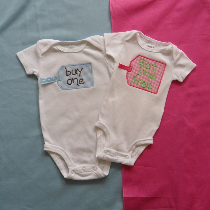 Twin Babies Onesie Girl And Boy Buy One Get One Free
