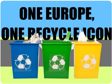 'Afvalscheiding' by Kiri. This clip visualizes the opinion on one recycling policy for all European countries. Now the separation of garbage is different in every single European country.