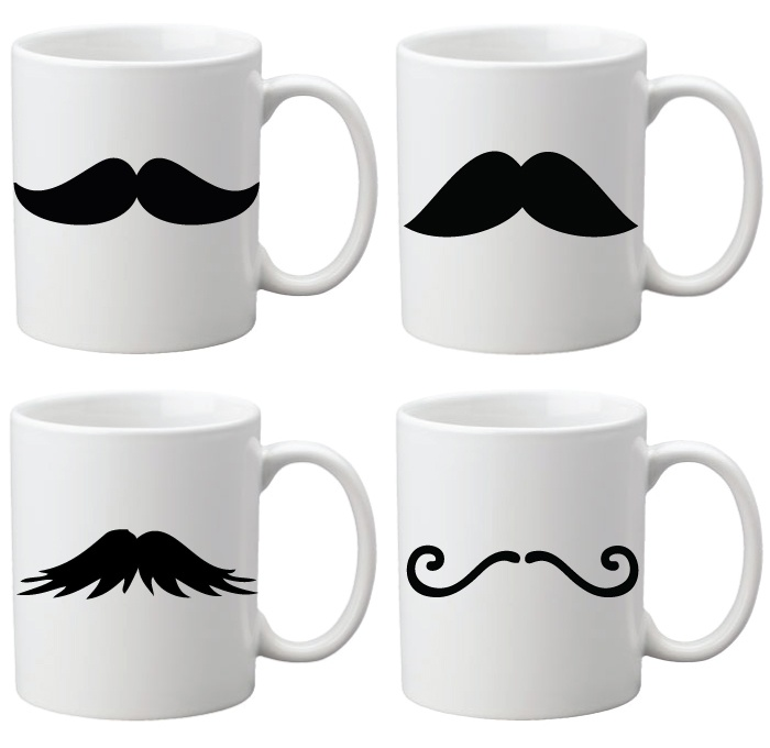 What is Movember? Fundraising Idea's for Movember. Stubby Holders, Personalised Coffee Mugs & Personalised Phone Covers