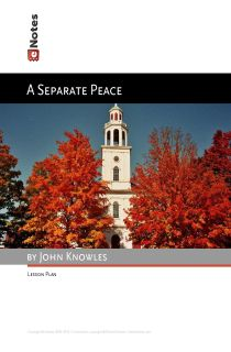 A Separate Peace eNotes Lesson Plan content