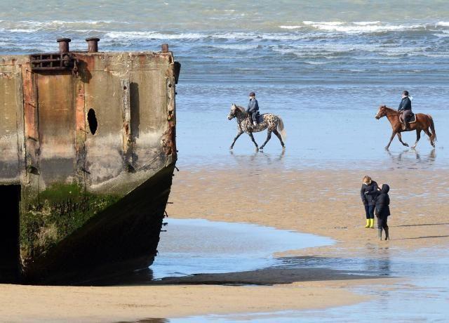 Marée du siècle. Nos plus belles photos du littoral ce week-end