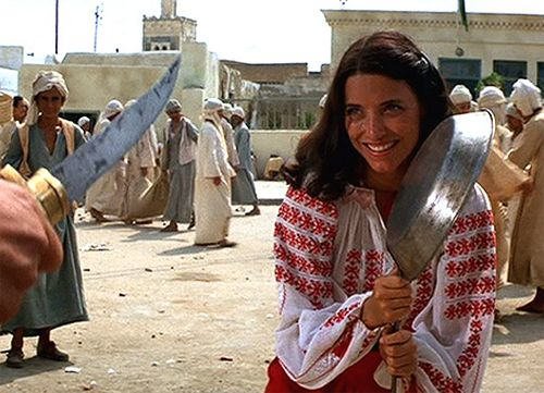 Marion Ravenwood's EVERYTHING--her gumption, her style, her all around badass-ness.