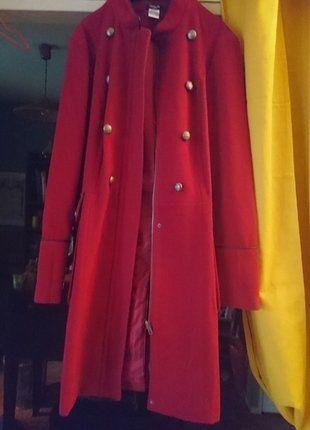 À vendre sur #vintedfrance ! http://www.vinted.fr/mode-femmes/manteaux-dhiver/26690735-manteau-dhiver-rouge-la-redoute