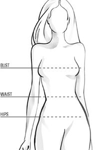 Another easy Body Shape Calculator --just enter measurements. I like the fashion recommendations, too.