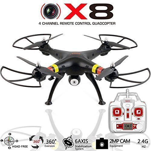 Quadcopter Drone with Camera X8C Venture - Best Drones RC Helicopter for sale - GoPro Compatible, HD 2MP Aerial Video, Headless Mode, Easy Control 6 Axis Gyroscope [USA Warranty 100% Guaranteed] - http://www.dronefreeapps.com/product/quadcopter-drone-with-camera-x8c-venture-best-drones-rc-helicopter-for-sale-gopro-compatible-hd-2mp-aerial-video-headless-mode-easy-control-6-axis-gyroscope-usa-warranty-100-guaranteed/