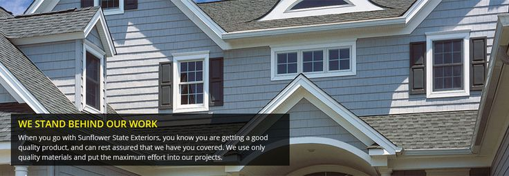 Award winning roofing contractors based in Wichita and serving the entire state of Kansas. Offices in Wichita, Dodge City, El Dorado, Salina, and Manhattan #RoofingCompanyWichitaKS http://www.sunflowerstateexteriors.com