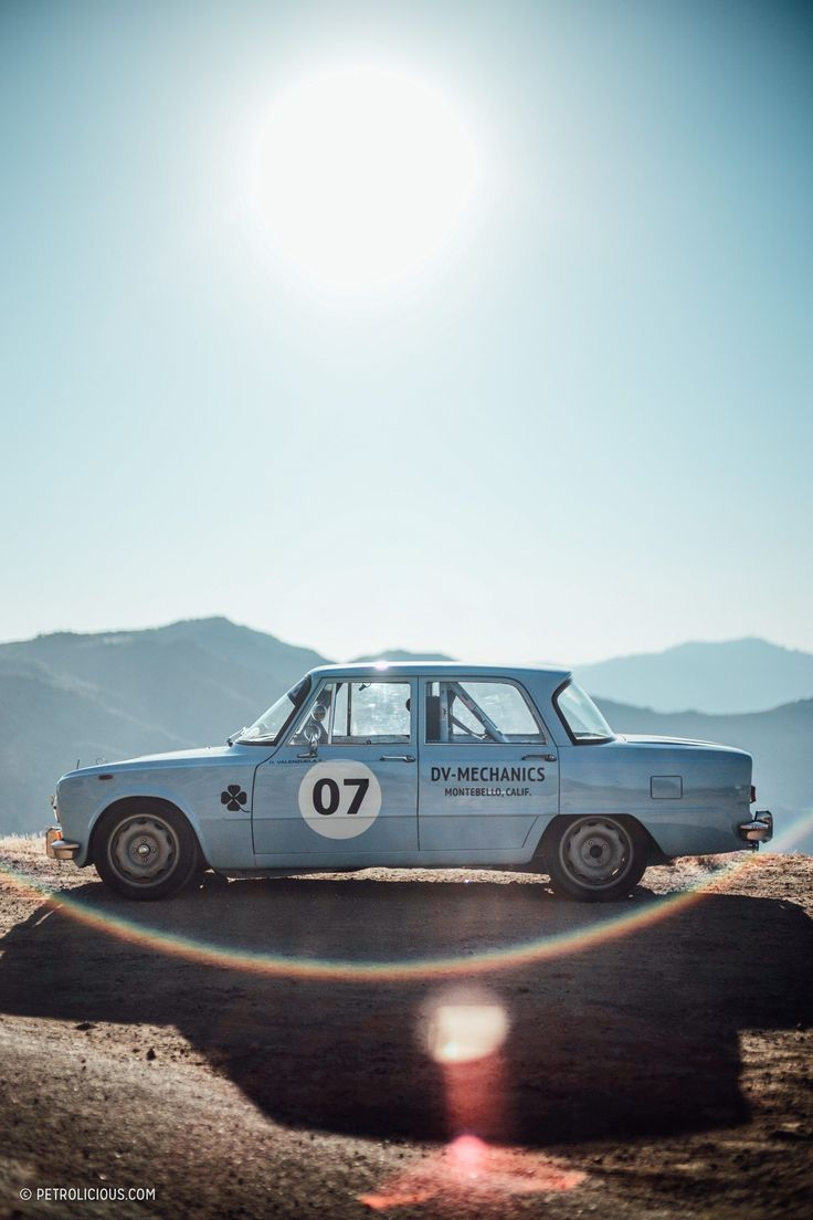 GALLERY: Heaven Is Two Race-Prepped Alfas At Dawn In Malibu's Mountains • Petrolicious