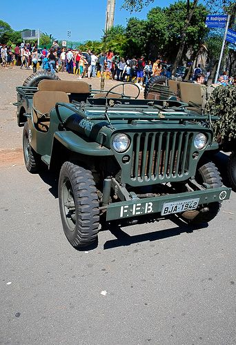 Jeep. My Dad drove a 1954 Jeep in South Korea and these remind me of him...