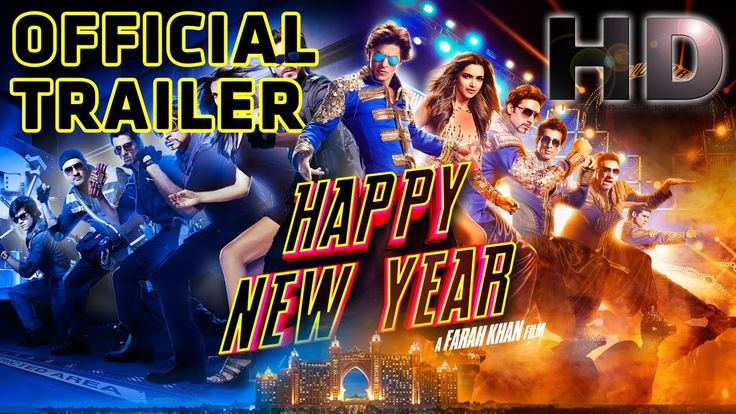 Happy New Year (2014) | Official Trailer #Indiawaale #HNYTrailer #HNYCharlie