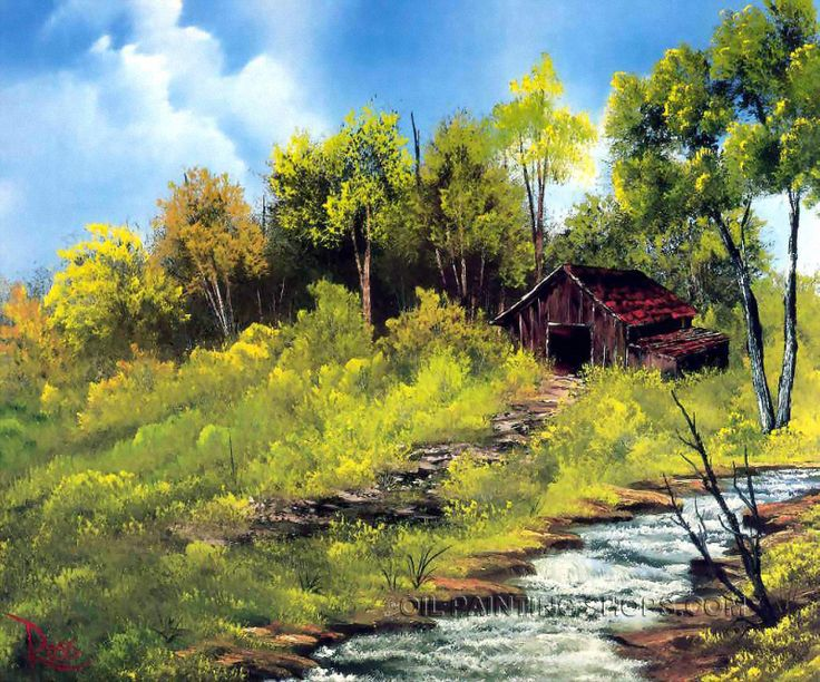 """Gallery Stretched Reproduction Art Famous Landscape Painting Mountain, Size: 36"""" x 24"""", $104. Url: http://www.oilpaintingshops.com/gallery-stretched-reproduction-art-famous-landscape-painting-mountain-2193.html"""