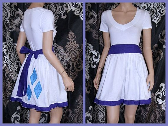 My Little Pony Rarity summer Dress Cosplay Costume by mtcoffinz, $75.00 I would wear this with no shame.  Ok maybe a little. But it would be worth it.