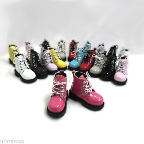 Mimi-Collection-MSD-DOC-1-4-Bjd-Obitsu-60cm-Doll-Boots-High-Hill-Shoes-CHERRY