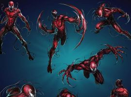 CARNAGE (Cletus KASADY) | 4 Stars | Action Poses | Marvel PUZZLE QUEST