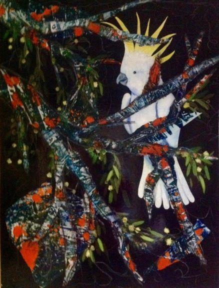 Cheeky Cockatoo (Victoria Velozo)