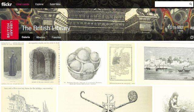 La Biblioteca Británica ha liberado, bajo dominio público, más de un millón de fotografías de sus archivos históricos de los siglos XVII, XVIII y XIX.