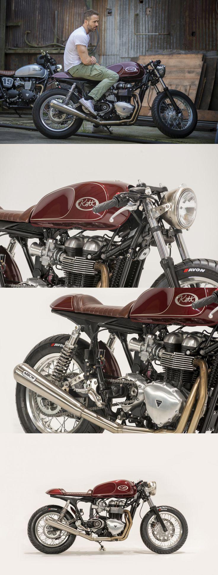 Ryan Reynolds Triumph Thruxton by Kott Motorcycles